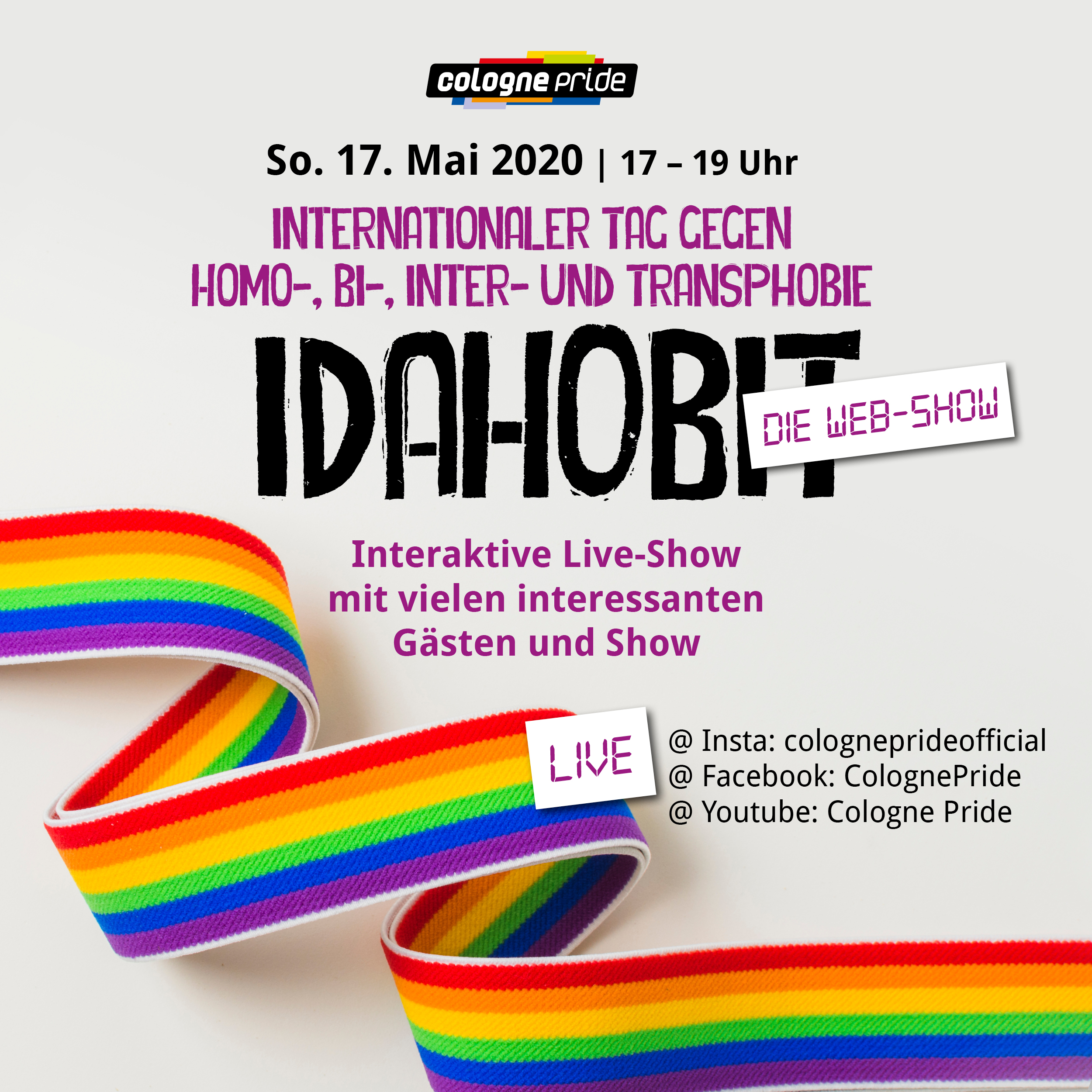IDAHOBIT - Die Web-Show